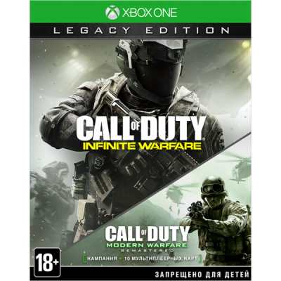 Call of Duty: Infinite Warfare. Legacy Edition [Xbox One, русская версия]