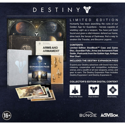 Destiny. Limited Edition [Xbox One, русская документация]