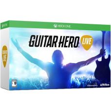 Комплект для Guitar Hero Live (игра + беспроводная гитара) [Xbox One, английская версия]