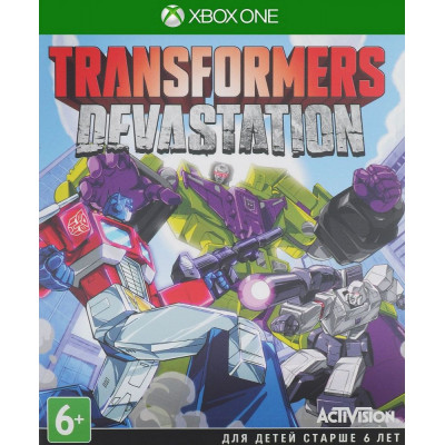 Transformers: Devastation [Xbox One, русская документация]