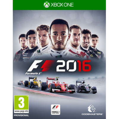 Formula 1 2016. Ограниченное издание [Xbox One, Русские субтитры]