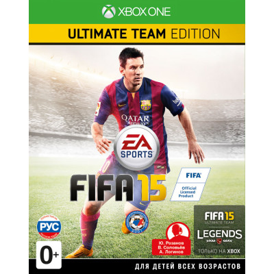 FIFA 15. Ultimate Team Edition [Xbox One, русская версия]