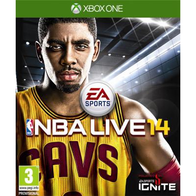 NBA Live 14 [Xbox One, русская документация]
