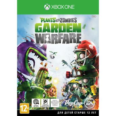 Plants vs Zombies Garden Warfare [Xbox One, русская документация]