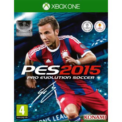 Игра для Xbox One Pro Evolution Soccer 2015 (русские субтитры)
