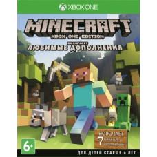 Minecraft: Издание для Xbox One. Любимые дополнения [Xbox One, русская версия]