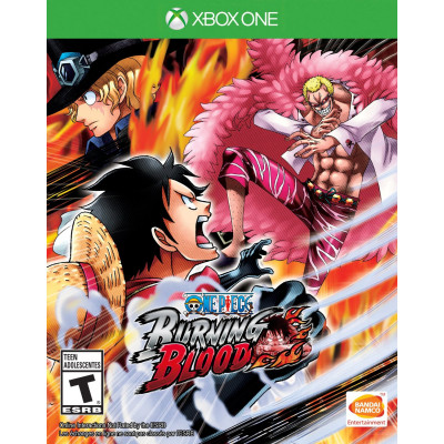 One Piece Burning Blood [Xbox One, русские субтитры]