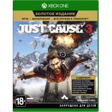 Just Cause 3. Gold Edition [Xbox One, русская версия с английской обложкой]