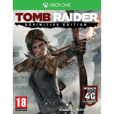 Tomb Raider. Definitive Edition [Xbox One, русская версия с английской обложкой]