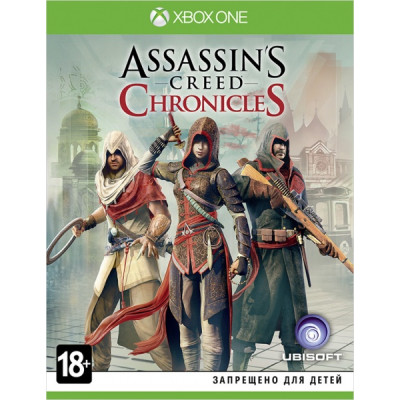 Assassin's Creed Chronicles: Трилогия [Xbox One, русские субтитры]