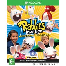 Rabbids Invasion (только для MS Kinect) [Xbox One, русская версия]