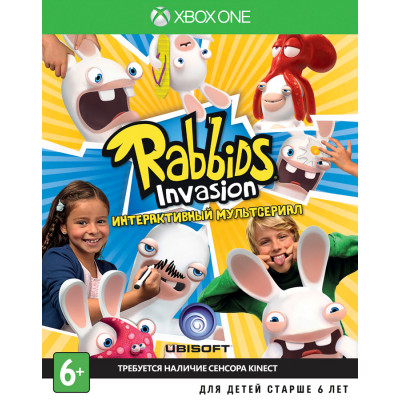 Rabbids Invasion (только для MS Kinect) [Xbox One, русская версия]