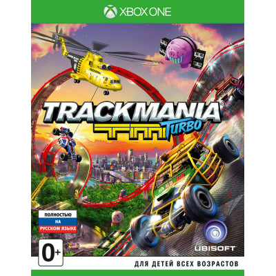 Trackmania Turbo [Xbox One, русская версия]