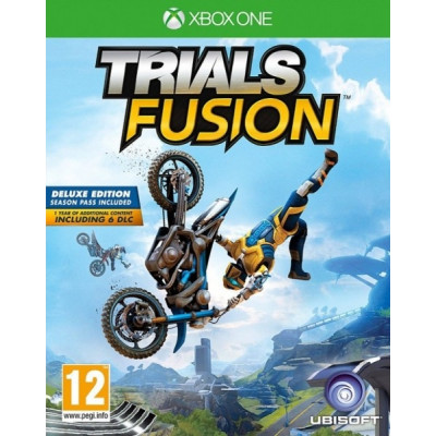 Trials Fusion: The Awesome. Max Edition [Xbox One, русская документация]