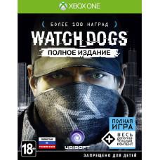 Watch_Dogs. Полное издание [Xbox One, русская версия]