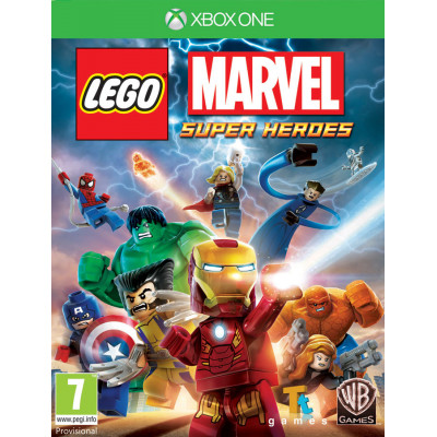 LEGO Marvel Super Heroes [Xbox One, русские субтитры]