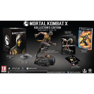 Mortal Kombat X. Kollector's Edition [Xbox One, русские субтитры]