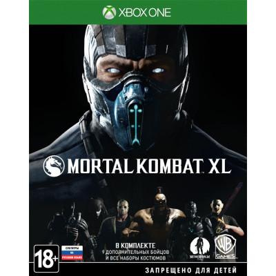Игра для Xbox One Mortal Kombat XL (русские субтитры)