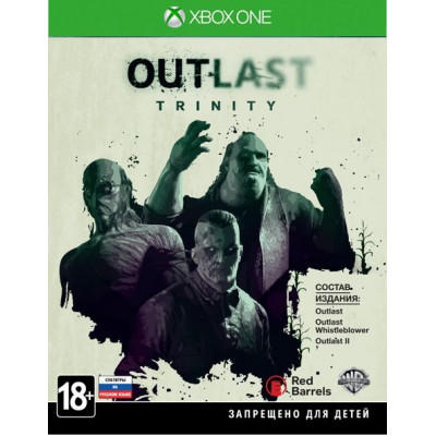 Outlast Trinity [Xbox One, русские субтитры]