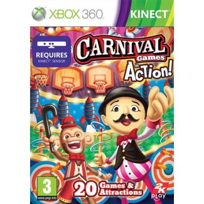 Carnival Games: In Action (только для Kinect) [Xbox 360, английская версия]
