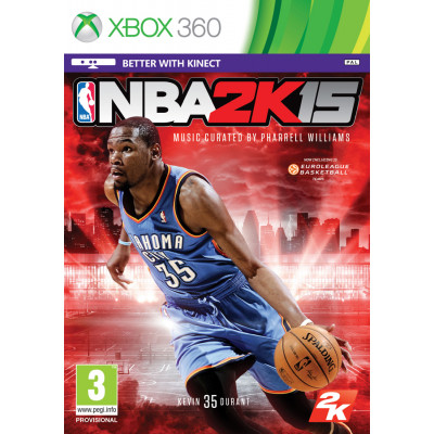 NBA 2K15 [Xbox 360, английская версия]