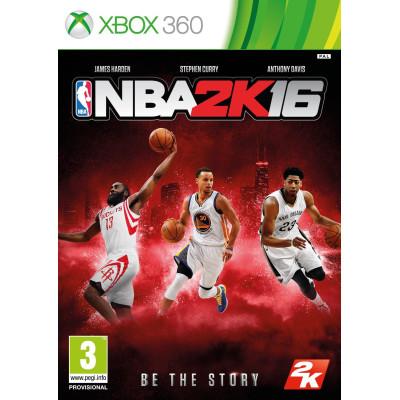 NBA 2K16 [Xbox 360, английская версия]