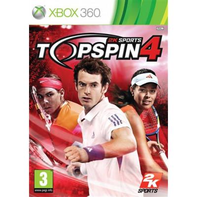 Top Spin 4 [Xbox 360, английская версия]