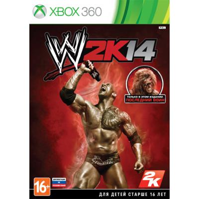 WWE 2K14 [Xbox 360, русская документация]