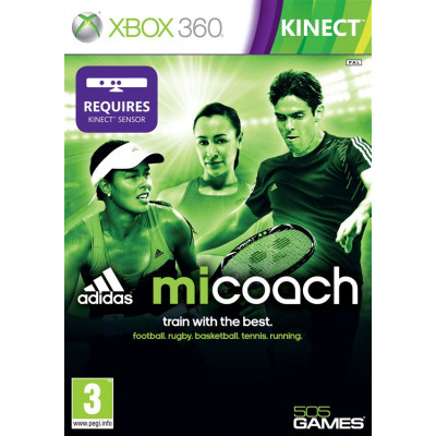 Adidas miCoach (только для MS Kinect) [Xbox 360, английская версия]