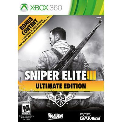 Sniper Elite 3. Ultimate Edition [Xbox 360, русская версия]