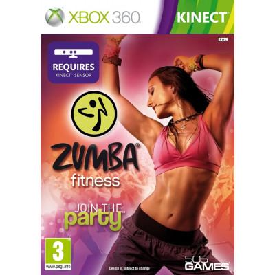 Zumba Fitness (только для MS Kinect) [Xbox 360, английская версия]