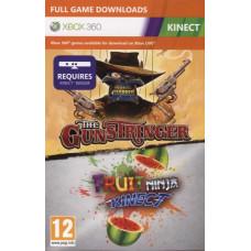Gunstringer + Fruit Ninja (только для MS Kinect) [Xbox 360, английская версия]