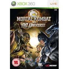 Mortal Kombat Vs DC Universe [Xbox 360, английская версия]