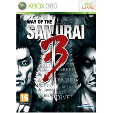 Way of the Samurai 3 [Xbox 360, английская версия]