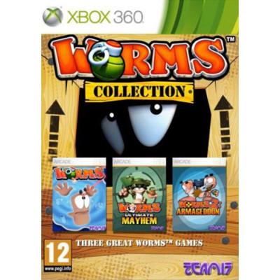 Worms Collection [Xbox 360, английская версия]