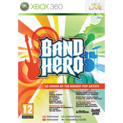 Band Hero [Xbox 360, английская версия]