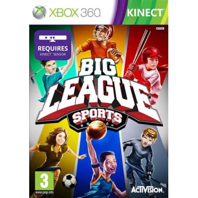 Big League Sports (требуется MS Kinect) [Xbox 360, английская версия]