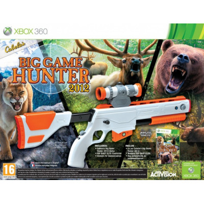Игра для Xbox 360 Cabela's Big Game Hunter 2012 (+ ружье)