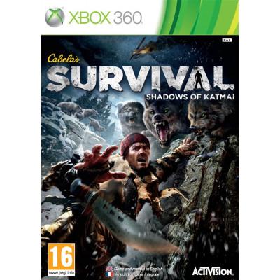 Cabela's Survial: Shadows of Katmai [Xbox 360, английская версия]