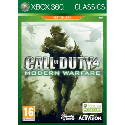 Call of Duty 4: Modern Warfare (Classics) [Xbox 360, русская документация]