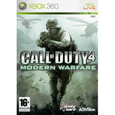 Call of Duty 4: Modern Warfare [Xbox 360, русская документация]