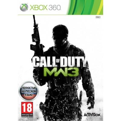 Call Of Duty: Modern Warfare 3 [Xbox 360, русская версия]