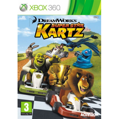 DreamWorks Super Star Kartz Racing [Xbox 360, английская версия]