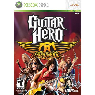 Guitar Hero Aerosmith [Xbox 360, английская версия]