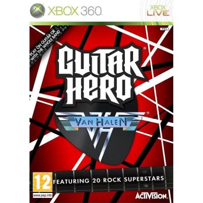 Guitar Hero Van Halen [Xbox 360, английская версия]