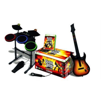 Guitar Hero: World Tour. Complete Band Pack [Xbox 360, английская версия]