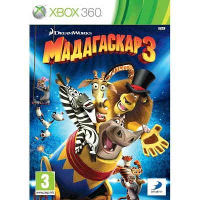 Мадагаскар 3 [Xbox 360, русские субтитры]