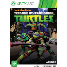 Teenage Mutant Ninja Turtles [Xbox 360, русская документация]