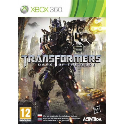 Transformers: Dark of the Moon [Xbox 360, русская документация]