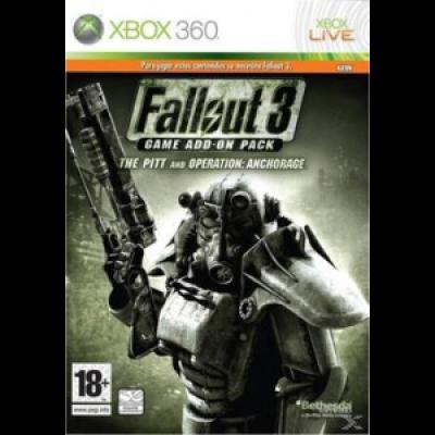 Fallout 3: дополнения The Pitt и Operation Anchorage [Xbox 360, английская версия]